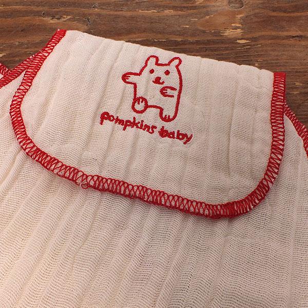 pompkins BABY  オーガニック 重ね織りガーゼ ベビー汗とりパット